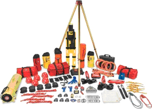 Confined Space Rescue Team Kit - Complete